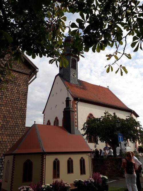 Modell der Kirche auf einem Wagen, rückseite