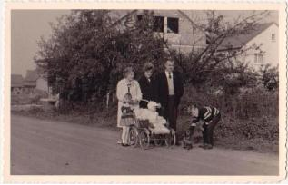 Foto einer Familie