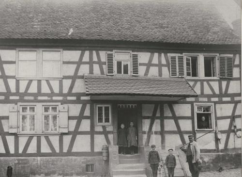 Ein Fachwerkhaus