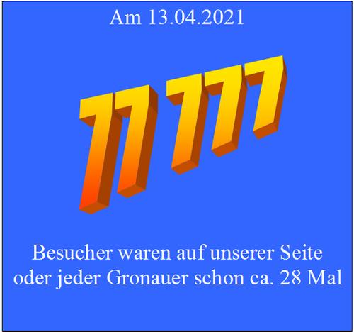 Die Zahl 77.777