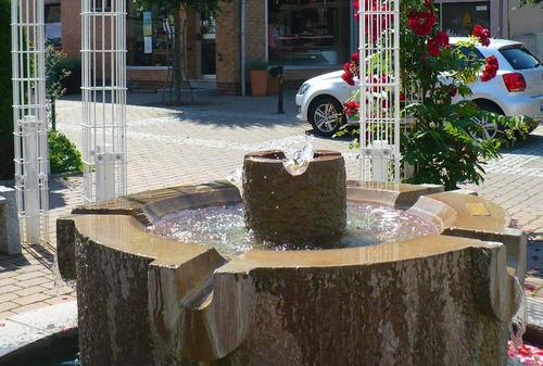 Aufnahme des Gronauer Brunnens