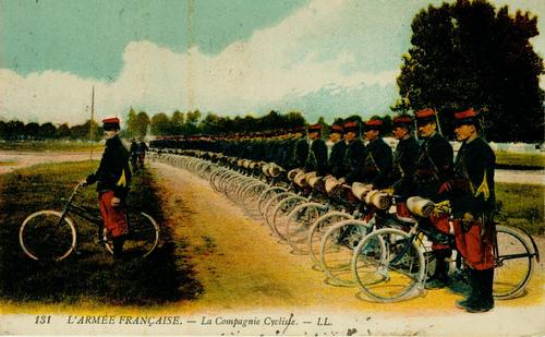 Soldaten auf Rädern
