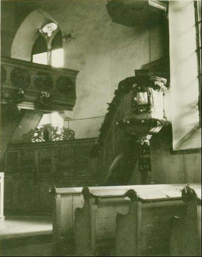 Kanzel in der Kirche