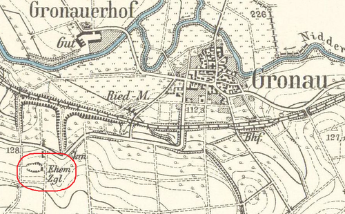 Bild einer historischen Karte