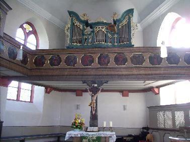 Foto Orgel auf der Empore