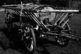 Historischer Bauernwagen