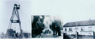 Alte Fotos der Förderanlage