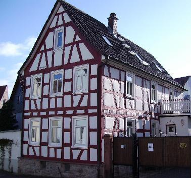 Renoviertes Fachwerkhaus in Gronau