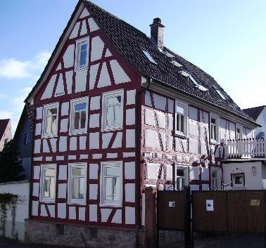 Foto eines Fachwerkhauses