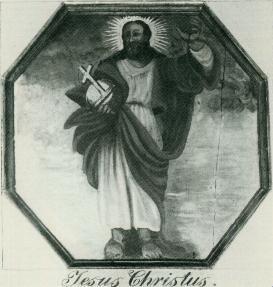 Zeichnung von Jesus Christus