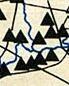 Karte mit Dreiecken
