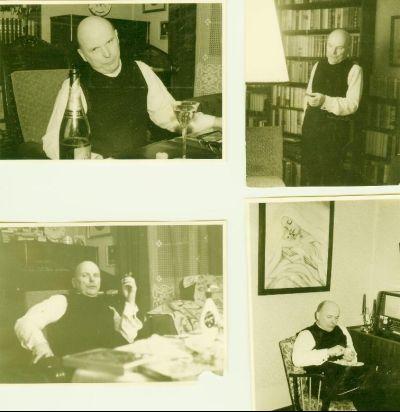 4 Bilder eines Mannes