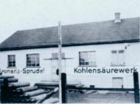 Foto des Firmengebäudes des Gronaris Sprudels