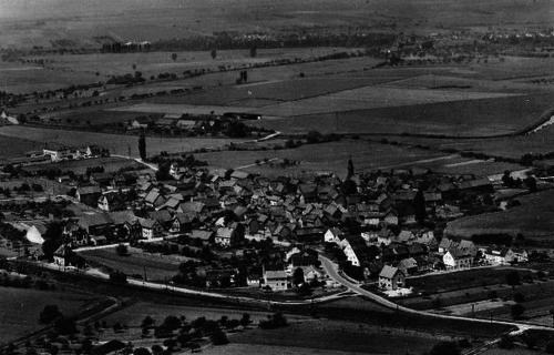 Luftbild von Gronau