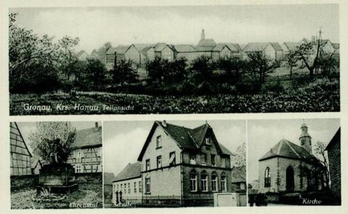 Altes Postkarte von Gronau