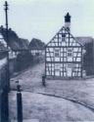 Foto des alten rathauses
